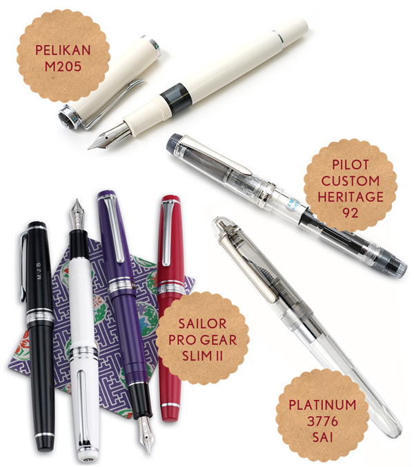 Moving Up in the Fountain Pen Market